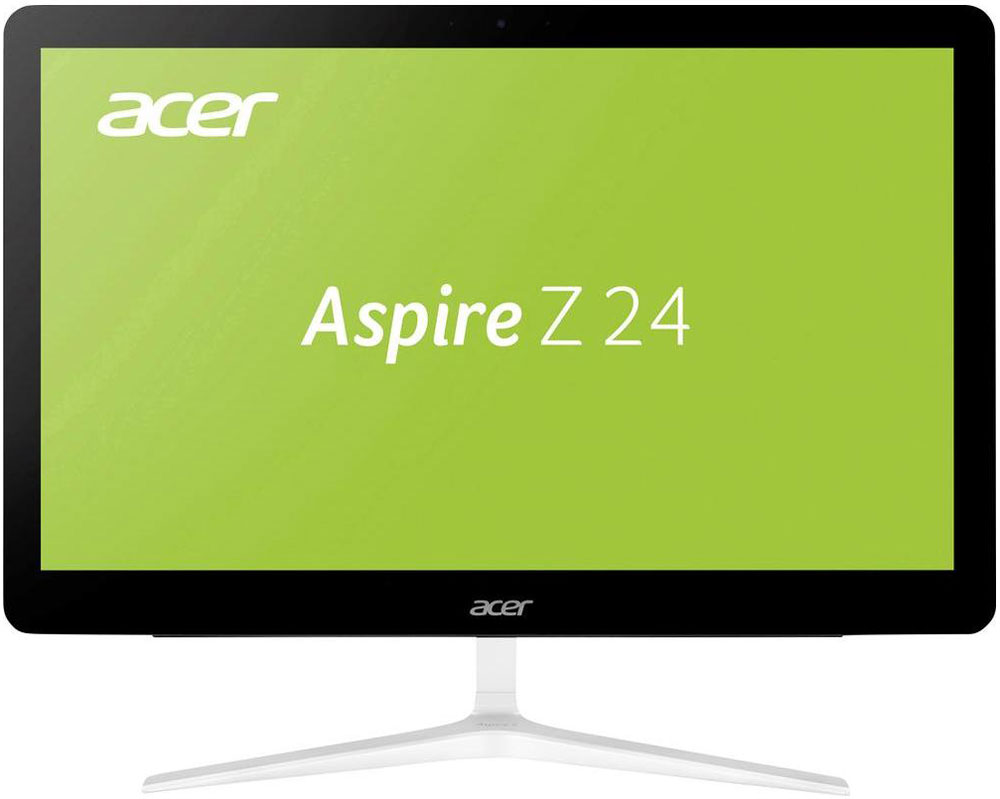 Acer Aspire Z24-880, Black моноблок (DQ.B8TER.001)DQ.B8TER.001Роскошный тонкий корпус делают Acer Aspire Z24-880 не только источником качественных развлечений, но и превосходным дополнением для интерьера.Ультратонкий дизайн экономит место на столе и элегантно дополняет интерьер благодаря V-образной металлической подставке.Два фронтальных стереодинамика направлены прямо на вас, что позволит вам насладиться четким звучанием. Технология Dolby Audio Premium делает развлечения еще ярче благодаря непревзойденному качеству звучания. Технология автоматически настраивает звук для обеспечения качества домашнего кинотеатра с объемным звучанием — насыщенный стереозвук с эффектом погружения.Расширить функциональность Aspire Z24 позволит множество портов для дополнительных устройств.Благодаря разрешению Full HD 1080p экран обеспечивает реалистичную четкость изображения при широком угле обзора.Память Intel Optane это новый тип памяти, который повышает производительность благодаря связи между оперативной и постоянной памятью и обеспечивает потрясающее быстродействие системы.Теперь общаться со своими родными и близкими еще приятнее благодаря вебкамере и двум микрофонам.Технологии Acer BlueLightShield и Flickerless позволят снизить нагрузку на зрение при долгой работе за компьютером.Точные характеристики зависят от модели.Компьютер сертифицирован EAC и имеет русифицированную клавиатуру и Руководство пользователя.