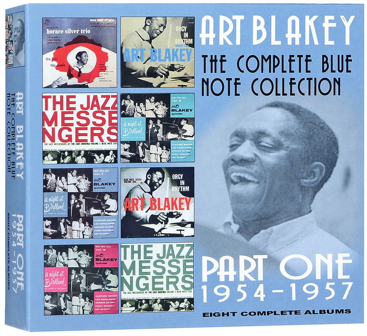 Арт Блэйки Art Blakey. The Complete Blue Note Collection Part One 1954-1957. Eight Complete Albums (4 CD) cd billie holiday the centennial collection