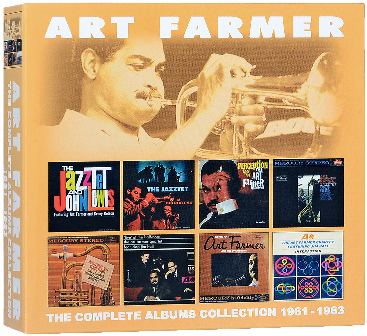 Арт Фармер Art Farmer. The Complete Albums Collection 1961 - 1963 (4 CD)