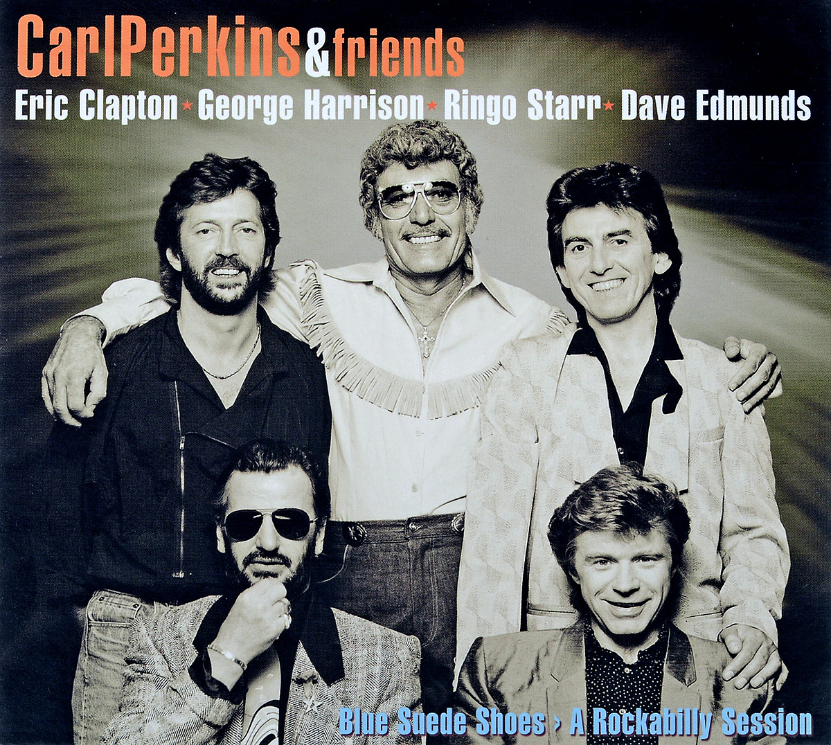 Carl Perkins & Friends: Blue Suede Shoes: A Rockabilly Session: 30th Anniversary Edition (CD + DVD) a500g mens watches top brand luxury tvg brand men business casual watch stainless steel strap quartz watch fashion sports watche