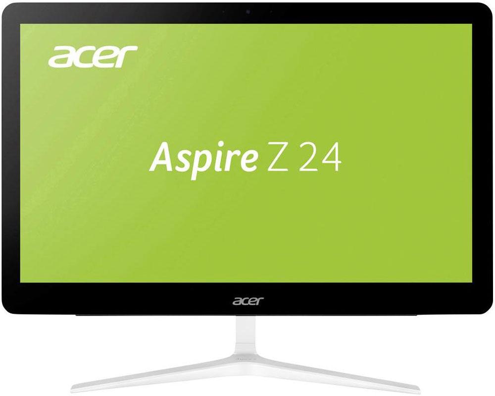 Acer Aspire Z24-880, Black моноблок (DQ.B8TER.002)DQ.B8TER.002Роскошный тонкий корпус делают Acer Aspire Z24-880 не только источником качественных развлечений, но и превосходным дополнением для интерьера.Ультратонкий дизайн экономит место на столе и элегантно дополняет интерьер благодаря V-образной металлической подставке.Два фронтальных стереодинамика направлены прямо на вас, что позволит вам насладиться четким звучанием. Технология Dolby Audio Premium делает развлечения еще ярче благодаря непревзойденному качеству звучания. Технология автоматически настраивает звук для обеспечения качества домашнего кинотеатра с объемным звучанием - насыщенный стереозвук с эффектом погружения.Расширить функциональность Aspire Z24 позволит множество портов для дополнительных устройств.Благодаря разрешению Full HD 1080p экран обеспечивает реалистичную четкость изображения при широком угле обзора.Память Intel Optane это новый тип памяти, который повышает производительность благодаря связи между оперативной и постоянной памятью и обеспечивает потрясающее быстродействие системы.Теперь общаться со своими родными и близкими еще приятнее благодаря вебкамере и двум микрофонам.Технологии Acer BlueLightShield и Flickerless позволят снизить нагрузку на зрение при долгой работе за компьютером.Точные характеристики зависят от модели.Компьютер сертифицирован EAC и имеет русифицированную клавиатуру и Руководство пользователя.