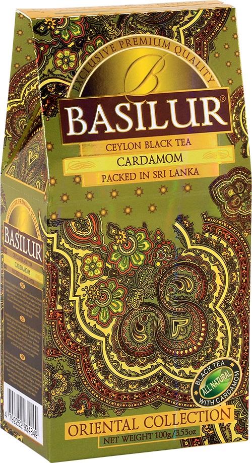 Basilur Cardamom черный листовой чай, 100 г чайники и кофейники на кухню basilur