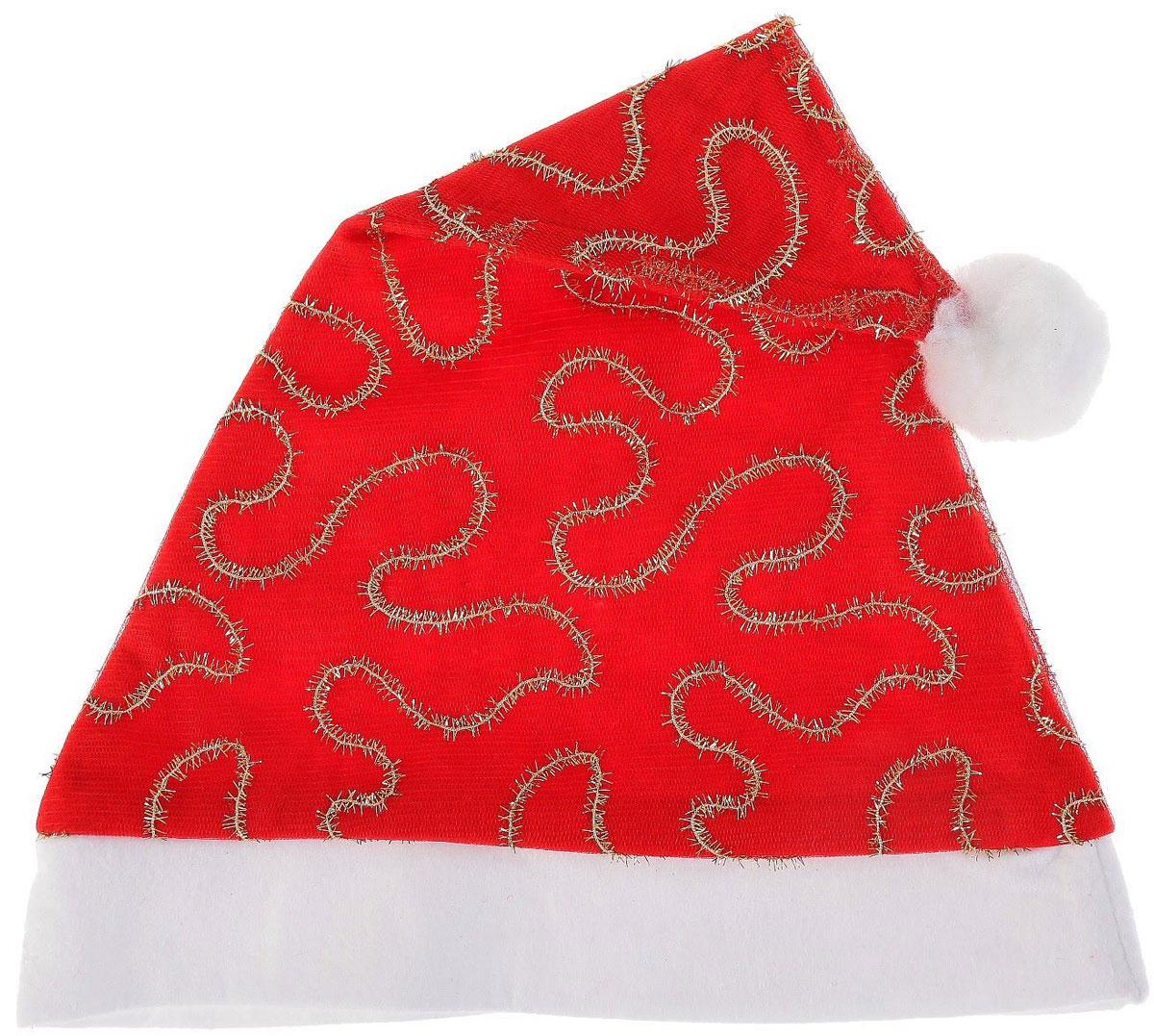 Колпак новогодний Лабиринт, 28 х 40 см. 13906441390644Поддайтесь новогоднему веселью на полную катушку! Забавный колпак в секунду создаст праздничное настроение, будь то поздравление ребятишек или вечеринка с друзьями. Размер изделия универсальный: аксессуар подойдет как для ребенка, так и для взрослого. А мягкий текстиль позволит носить колпак с комфортом на протяжении всей новогодней ночи.