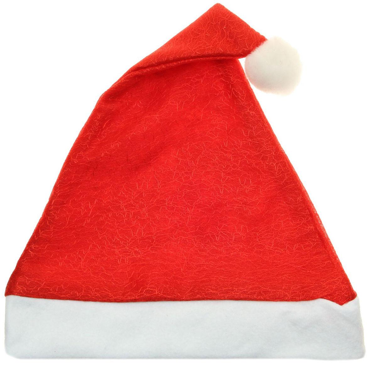 Колпак новогодний Кракле, 28 х 40 см. 13906421390642Поддайтесь новогоднему веселью на полную катушку! Забавный колпак в секунду создаст праздничное настроение, будь то поздравление ребятишек или вечеринка с друзьями. Размер изделия универсальный: аксессуар подойдет как для ребенка, так и для взрослого. А мягкий текстиль позволит носить колпак с комфортом на протяжении всей новогодней ночи.