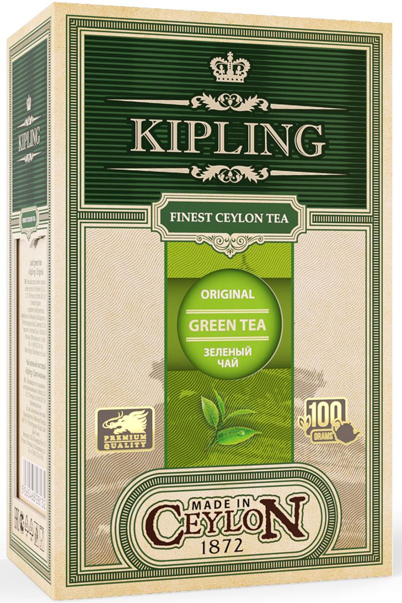 Kipling Green Loose Tea Original оригинальный зеленый листовой чай, 100 г70401Ароматный прозрачный чай нежно-золотистого цвета с бодрящим цитрусовым ароматом. Прекрасно утоляет жажду и восстанавливает силы в течение дня.