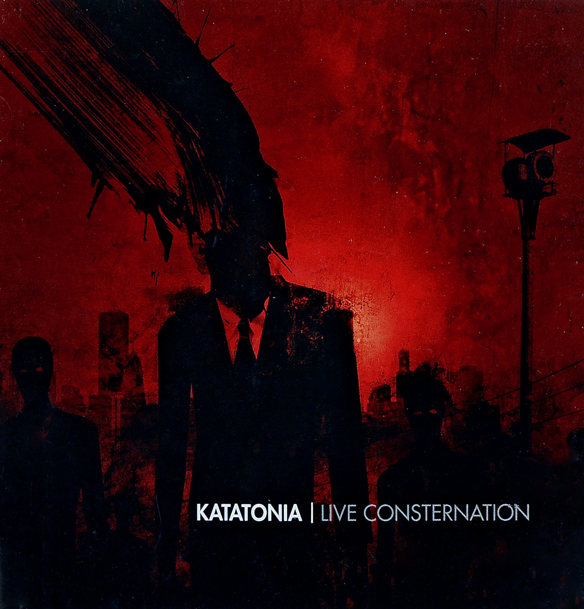 Katatonia: Live Consternation (CD + DVD) yes yes in the present live from lyon 2 cd dvd