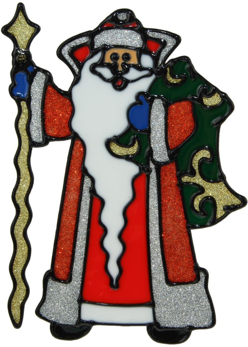 Украшение новогоднее оконное NoName Дед Мороз с длинной бородой, 12,5 х 18,5 см1399719Новогоднее оконное украшение NoName Дед Мороз с длинной бородой поможет украсить дом к предстоящим праздникам. Яркая наклейка крепится к гладкой поверхности стекла посредством статического эффекта. С помощью такого украшения вы сможете оживить интерьер по своему вкусу.Новогодние украшения всегда несут в себе волшебство и красоту праздника. Создайте в своем доме атмосферу тепла, веселья и радости, украшая его всей семьей.