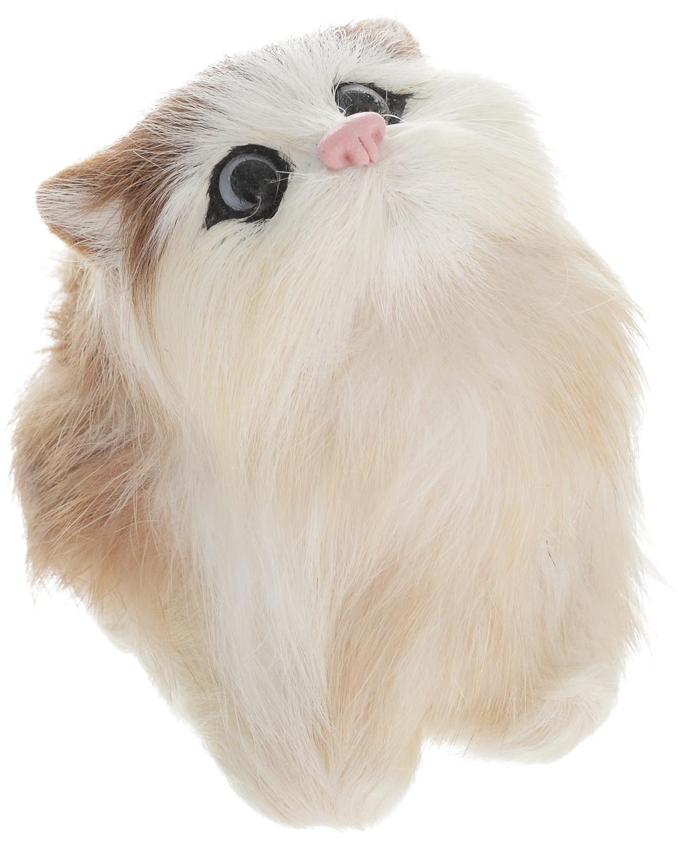 Vebtoy Фигурка Котенок играющий цвет светло-коричневый vebtoy фигурка котенок сидящий цвет белый c226