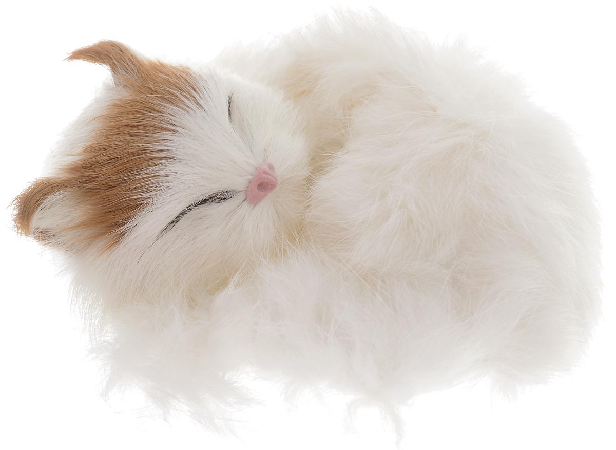 Vebtoy Фигурка Котенок в клубочке цвет белый C224 vebtoy фигурка котенок сидящий цвет белый c226