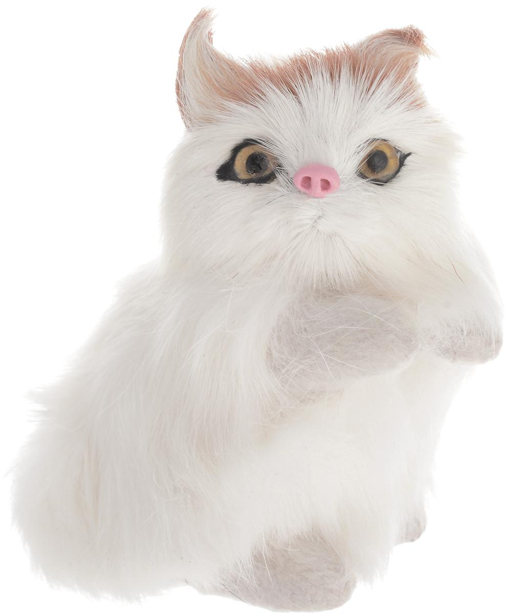 Vebtoy Фигурка Котенок сидящий цвет белый C211 vebtoy фигурка котенок сидящий цвет белый c226