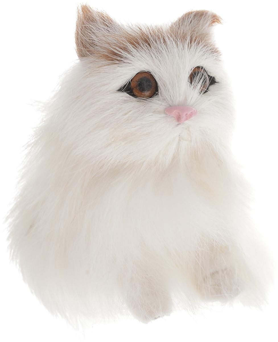 Vebtoy Фигурка Котенок сидящий цвет белый C203 vebtoy фигурка котенок сидящий цвет белый c226