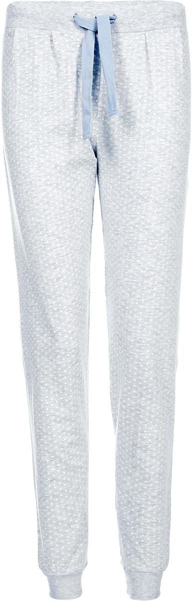 Брюки женские Sela, цвет: светло-серый меланж. PH-165/010-7423. Размер S (44)PH-165/010-7423
