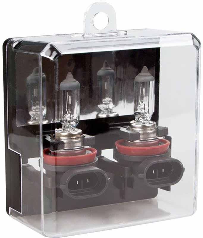 Лампа автомобильная галогенная Kraft Pro Long Life, H11(PGJ19-2), 12V, 55W, 2 штКТ 700211Уникальная технология производства, а также особая концентрация газа внутри колбы лампы, в состав которого входят инертные газы, обеспечивают срок службы, превышающий стандартный почти в 2 раза.