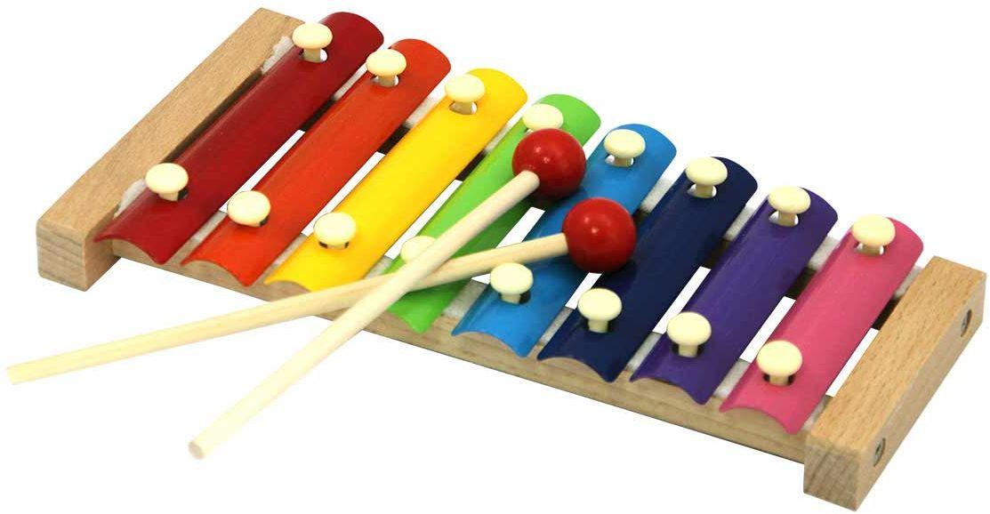 База Игрушек Ксилофон 7032 детский музыкальный инструмент магникон деревянный ксилофон 4660007763276