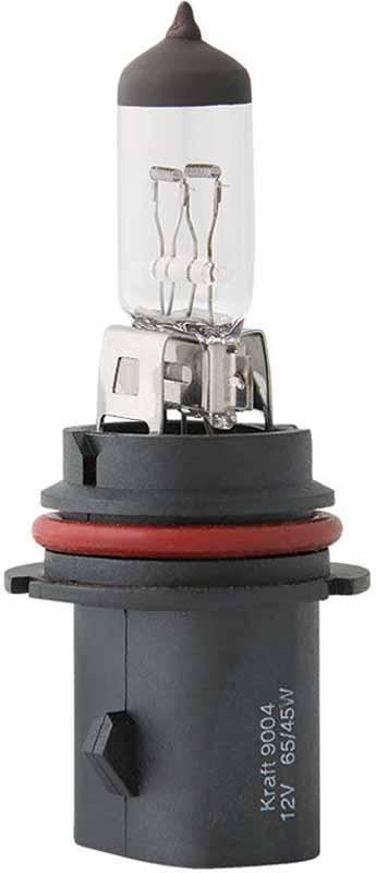 Лампа автомобильная галогенная Kraft Basic, HB1 12V, 65/45W (P29t) набор автомобильных ламп kraft basic 12leds 25x40 mm