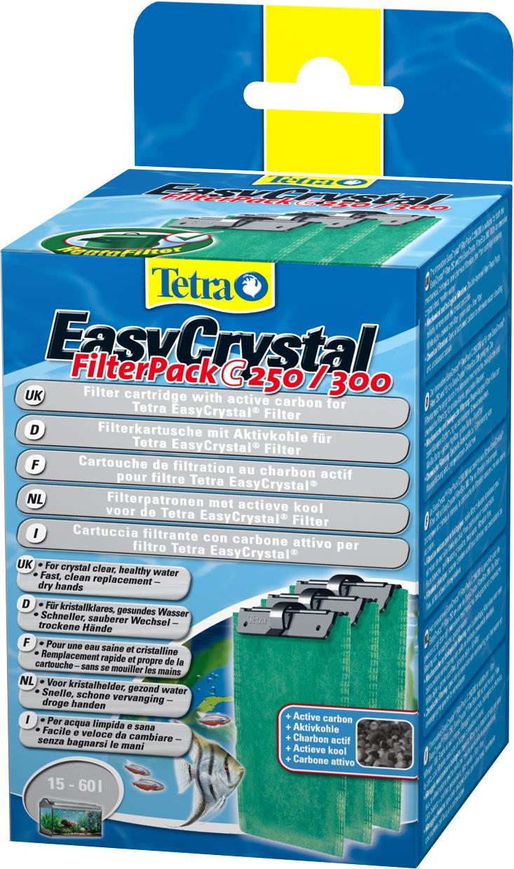 Фильтрующие картриджи Tetra EC 250/300, с углем, 3 шт