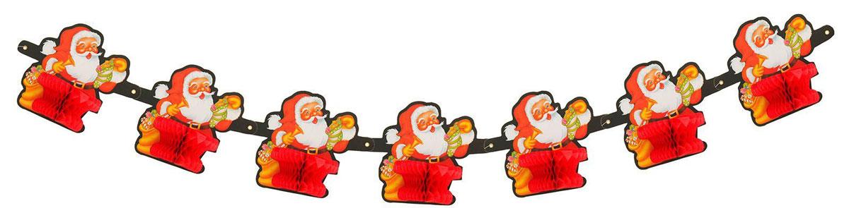 Гирлянда Страна Карнавалия Дед Мороз, длина 1,2 м1037246Невозможно представить нашу жизнь без праздников! Мы всегда ждем их и предвкушаем, обдумываем, как проведем памятный день, тщательно выбираем подарки и аксессуары, ведь именно они создают и поддерживают торжественный настрой. Это отличный выбор, который привнесет атмосферу праздника в ваш дом!