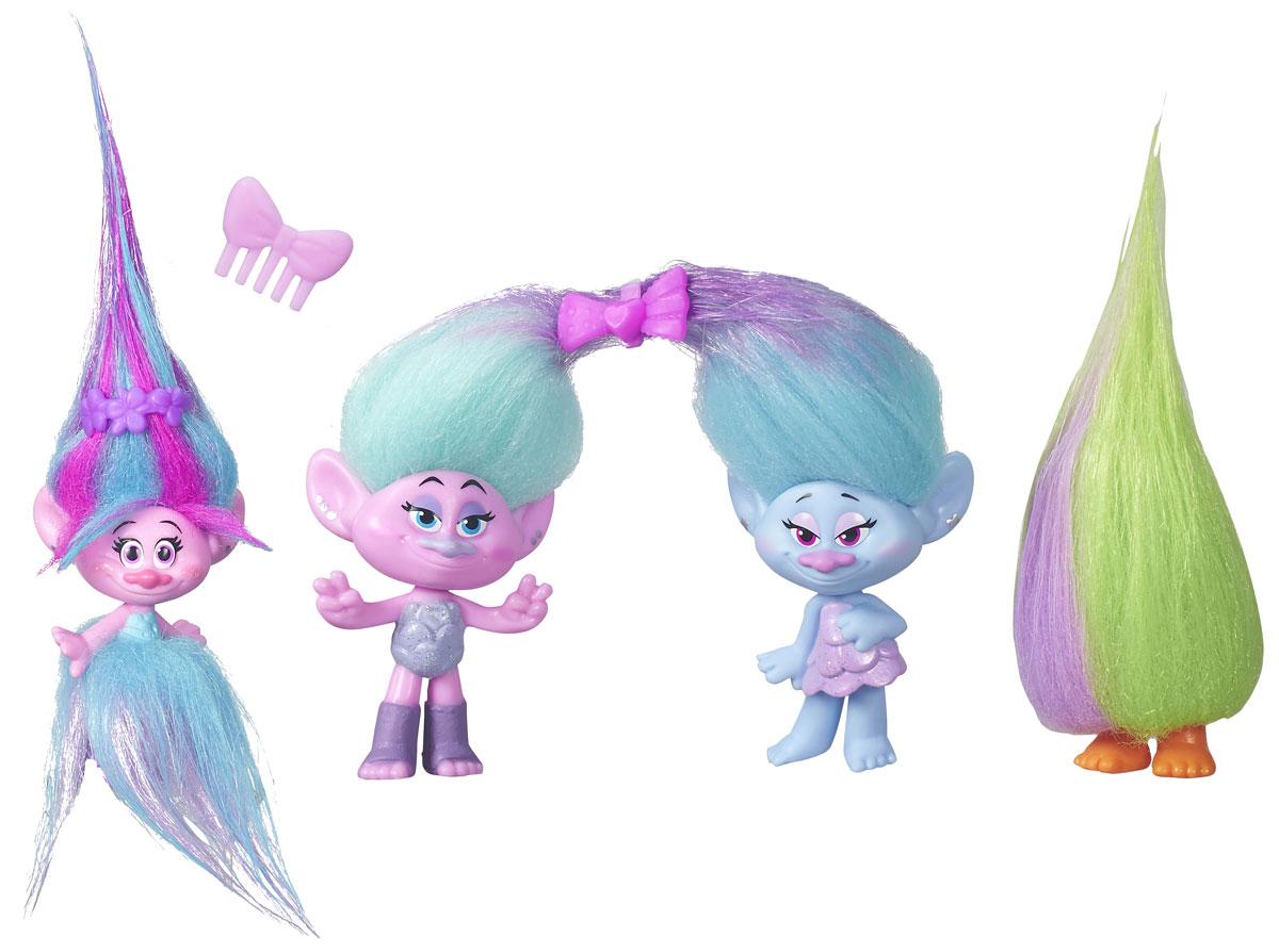 Trolls Набор фигурок Poppy's Fashion Frenzy 4 шт trolls канцелярский набор 4 предмета