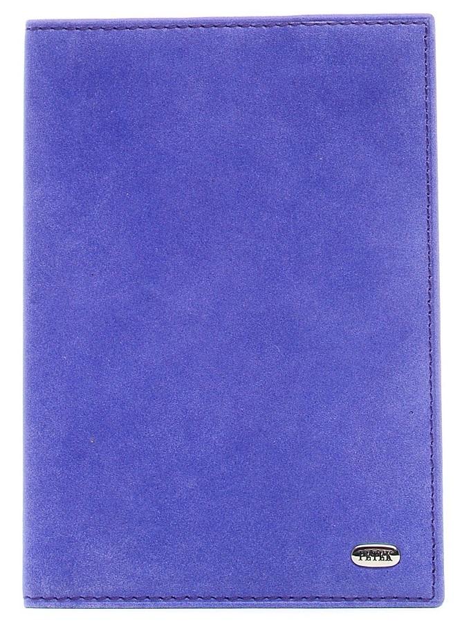 Обложка для паспорта женская Petek 1855, цвет: темно-фиолетовый. 581.142.27