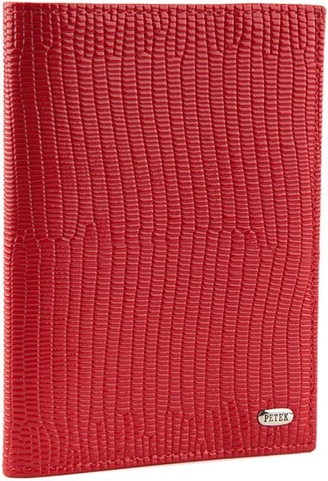 Обложка для паспорта женская Petek 1855, цвет: красный. 581.173.10 - Обложки для паспорта