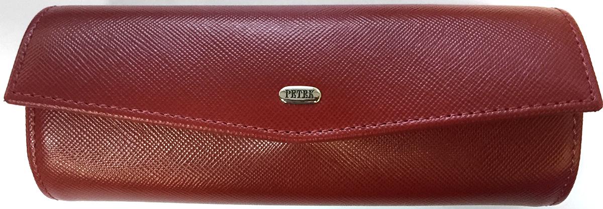 Футляр для очков мужской Petek 1855, цвет: коричневый. 694S.224.02