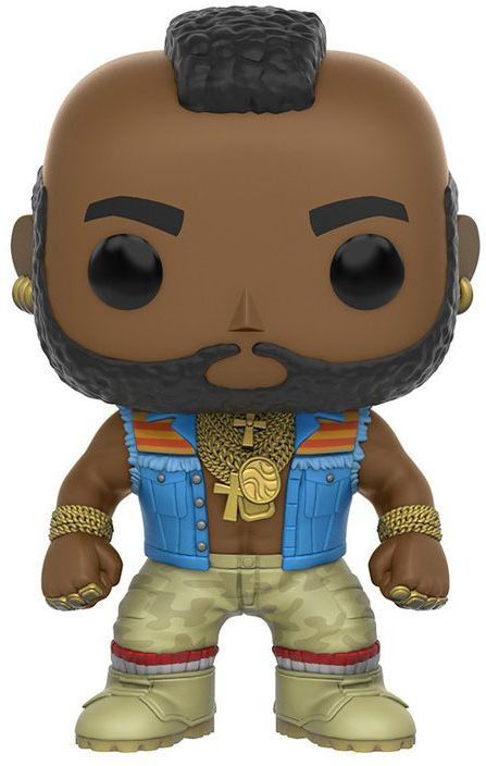 Funko POP! Vinyl Фигурка The A-Team B.A. Baracus 6426 фигурка funko pop movies the dark tower the man in black 9 5 см