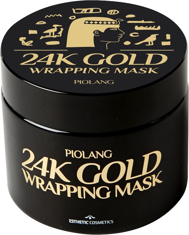 Esthetic House Маска для лица с 24-каратным золотом Piolang 24k Gold Wrapping Mask, 80 мл house of gold & bones