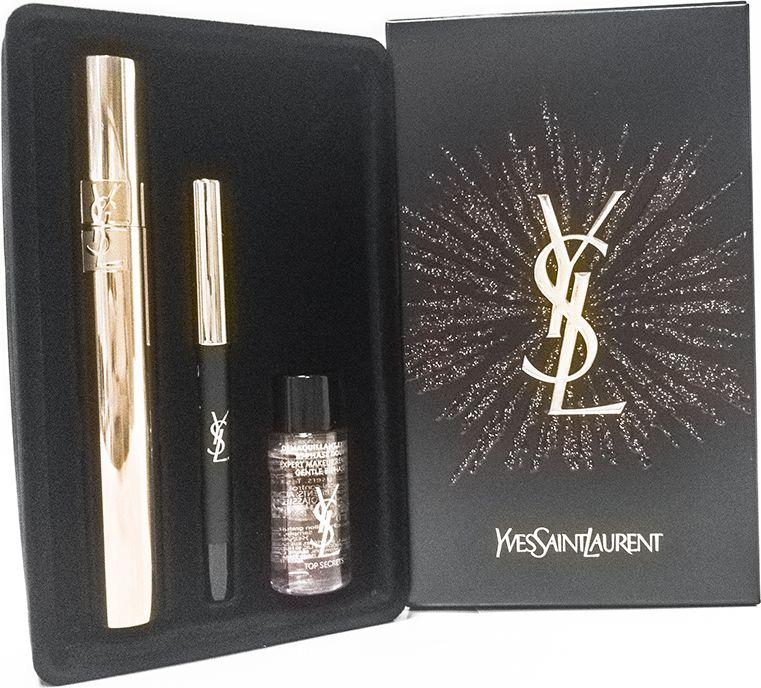 YSL Набор подарочный женский, 3 предмета. 990419 тушь для ресниц ysl с эффектом накладных ресниц
