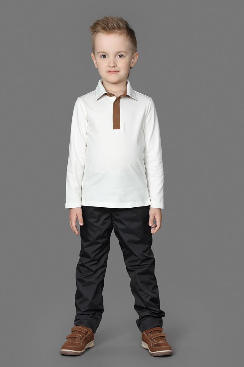 Брюки для мальчика Ёмаё, цвет: черный. 41-913. Размер 10441-913Стильные утепленные брюки для мальчика, изготовленные из натурального хлопка, отлично подойдут для отдыха и прогулок. Подкладка из натурального хлопка обеспечит наибольший комфорт вашему ребенку.Брюки классического покроя на талии имеют широкую эластичную резинку и имитацию ширинки.