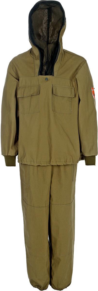 Костюм мужской Стоик Противоэнцефалитный, цвет: хаки. 55716. Размер 56/58-170/176