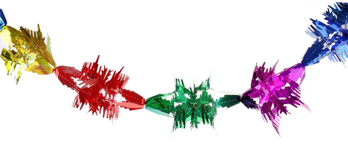 Растяжка Резная снежинка, длина 1,5 м702494Невозможно представить нашу жизнь без праздников! Мы всегда ждем их и предвкушаем, обдумываем, как проведем памятный день, тщательно выбираем подарки и аксессуары, ведь именно они создают и поддерживают торжественный настрой. Новогодние аксессуары — это отличный выбор, который привнесет атмосферу праздника в ваш дом!