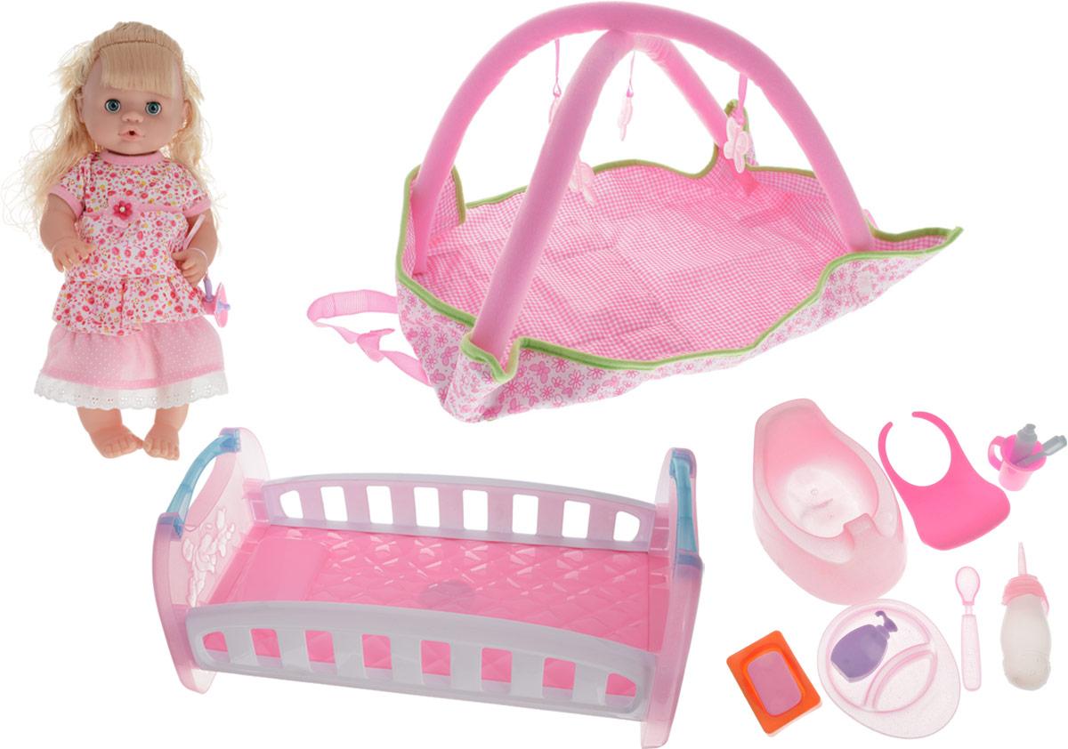 Yako Кукла цвет платья розовый с аксессуарами игровые наборы yako набор мебели кухня