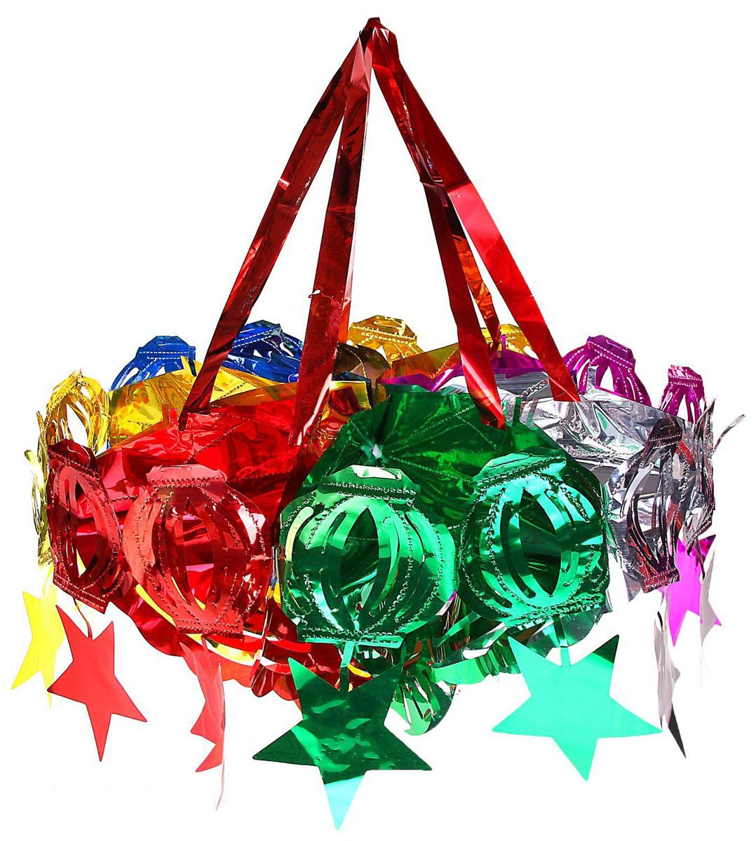 Гирлянда-фонарик Звезды, 29 х 35 см452417Невозможно представить нашу жизнь без праздников! Мы всегда ждем их и предвкушаем, обдумываем, как проведем памятный день, тщательно выбираем подарки и аксессуары, ведь именно они создают и поддерживают торжественный настрой. Новогодние аксессуары — это отличный выбор, который привнесет атмосферу праздника в ваш дом!