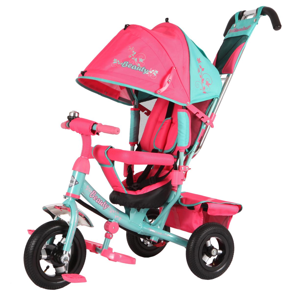 Beauty Велосипед трехколесный цвет мятный розовый BA2MP