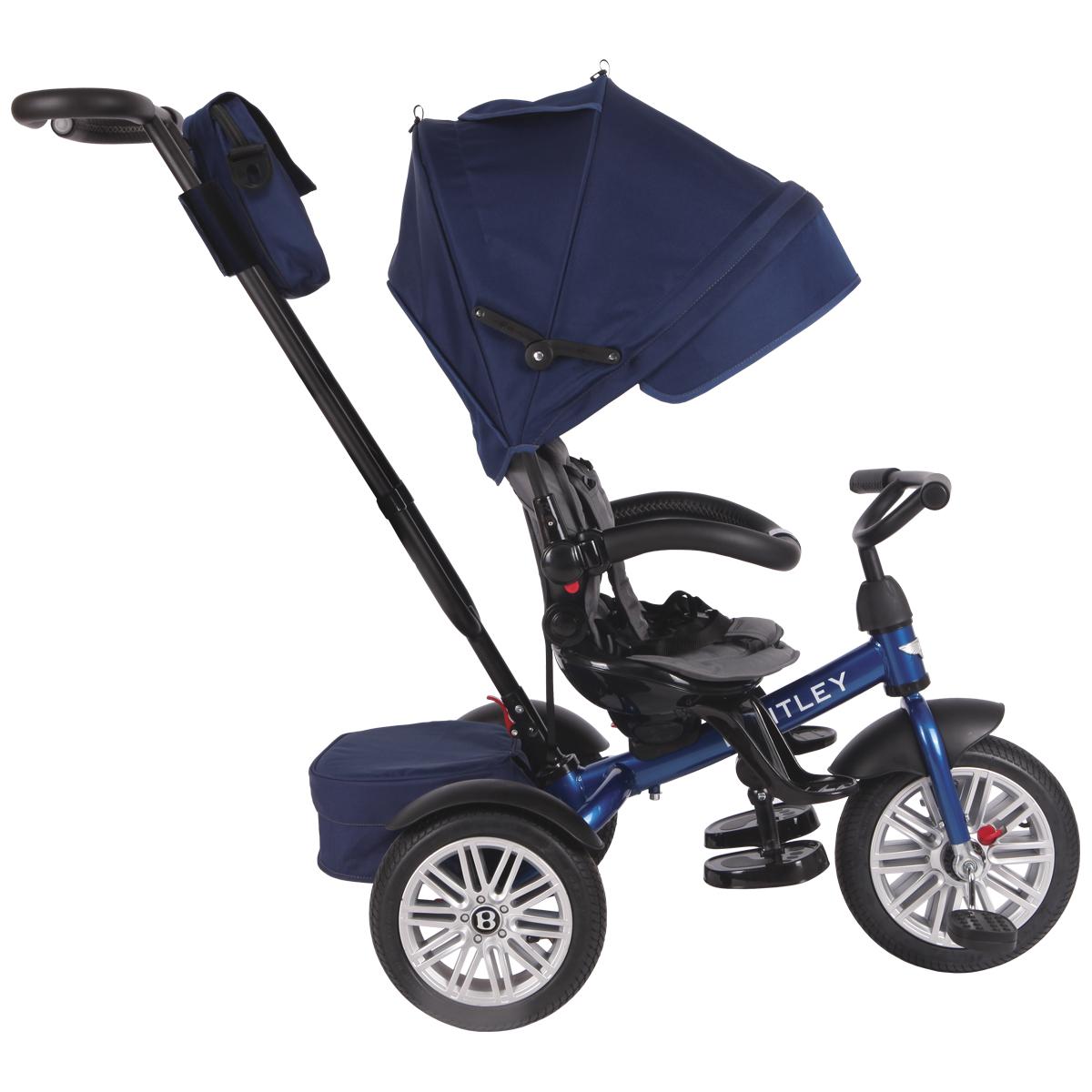 Bentley Велосипед трехколесный цвет синий BN1B - Велосипеды-каталки