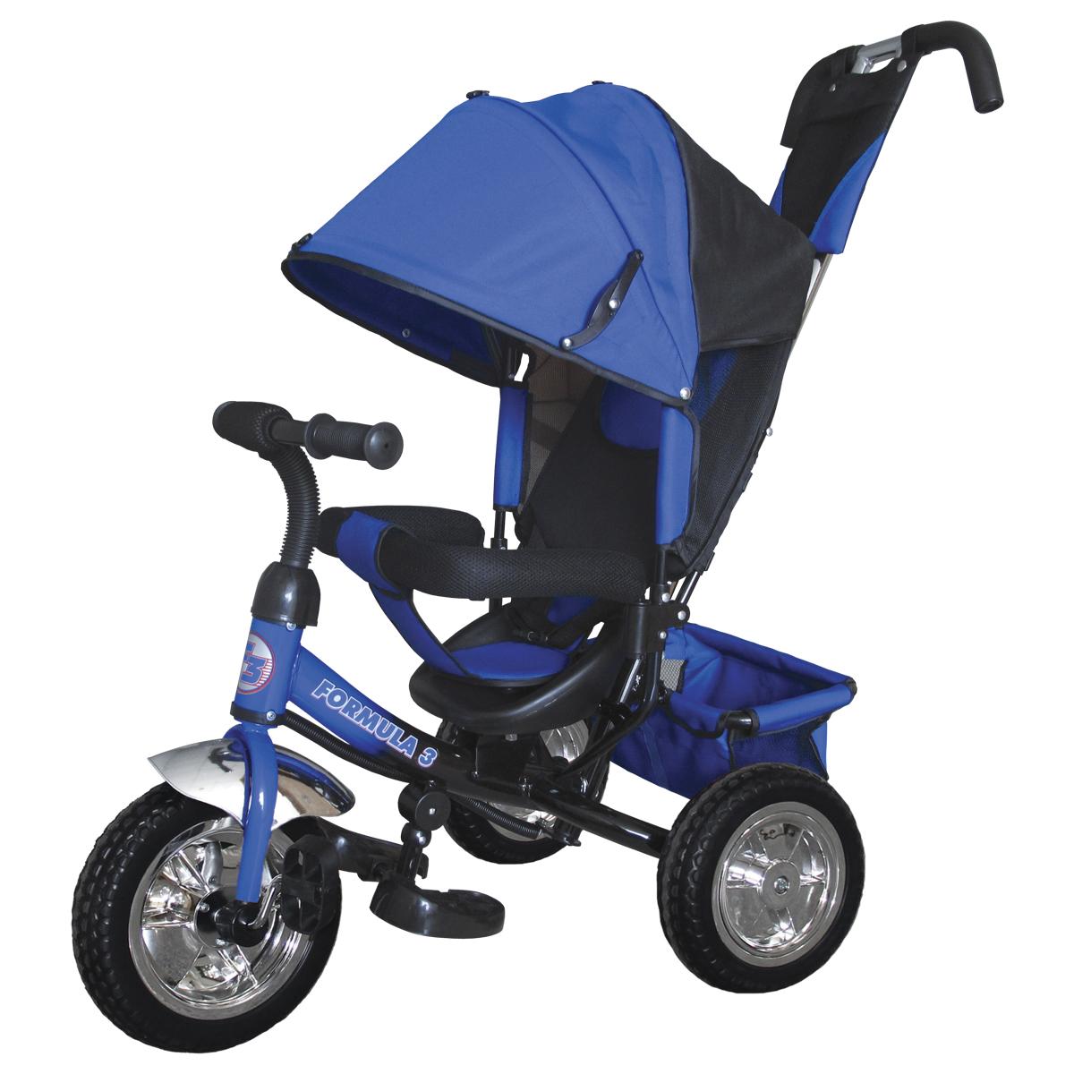 Formula 3 Велосипед трехколесный цвет синий F3B - Велосипеды-каталки