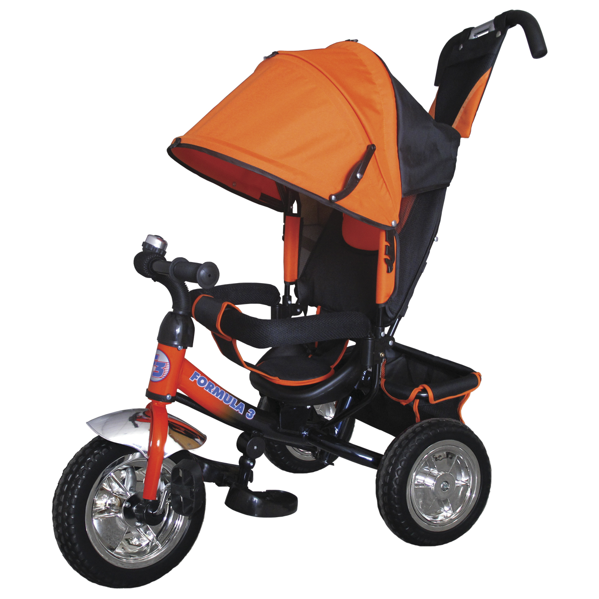 Formula 3 Велосипед трехколесный цвет оранжевый F3O