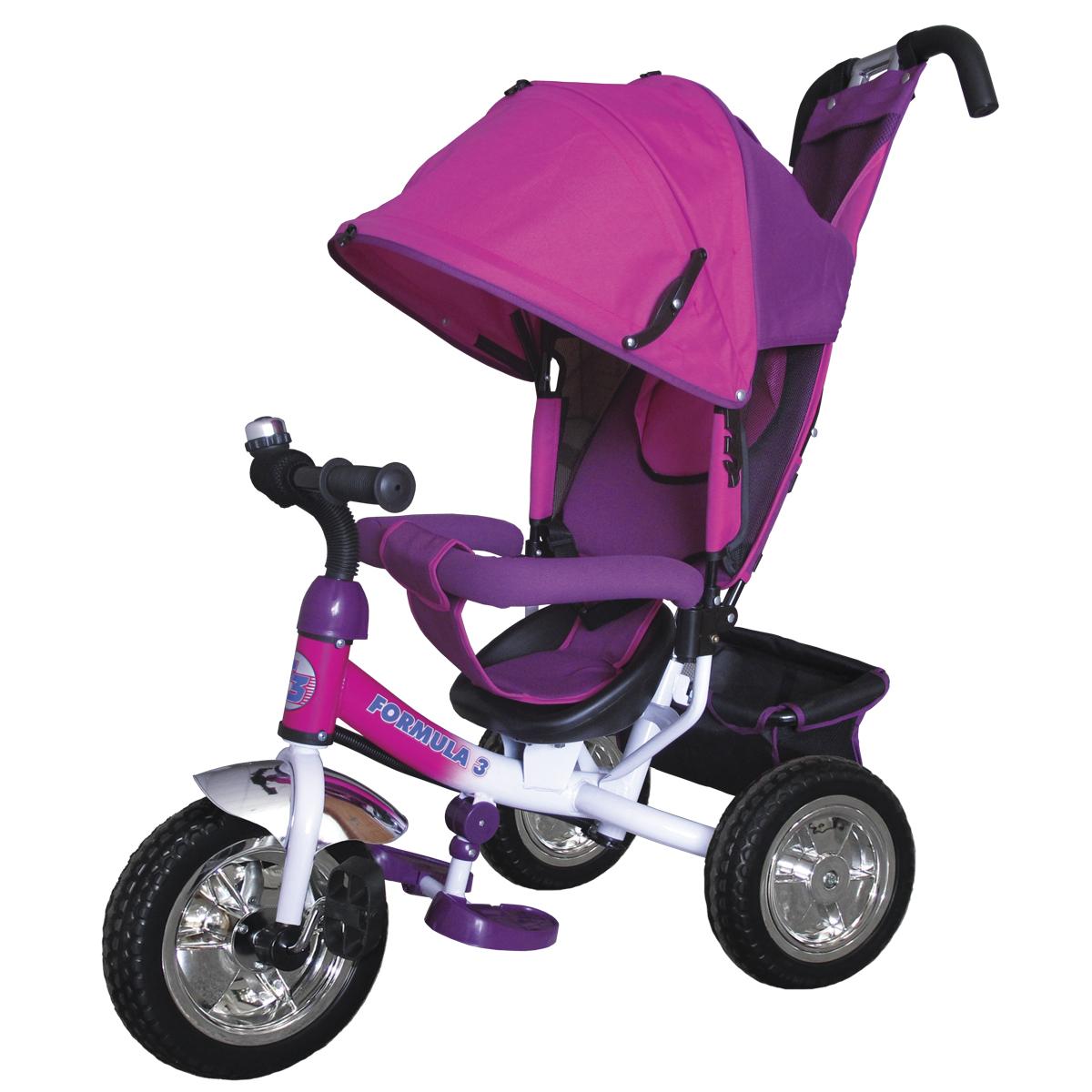 Formula 3 Велосипед трехколесный цвет розовый F3P