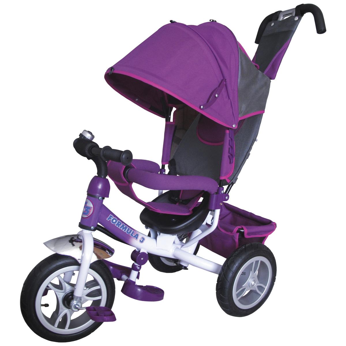 Formula 3 Велосипед трехколесный цвет фиолетовый FA3V - Велосипеды-каталки