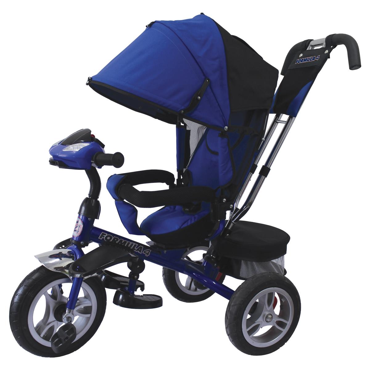 Formula 4 Велосипед трехколесный цвет синий FA4B - Велосипеды-каталки