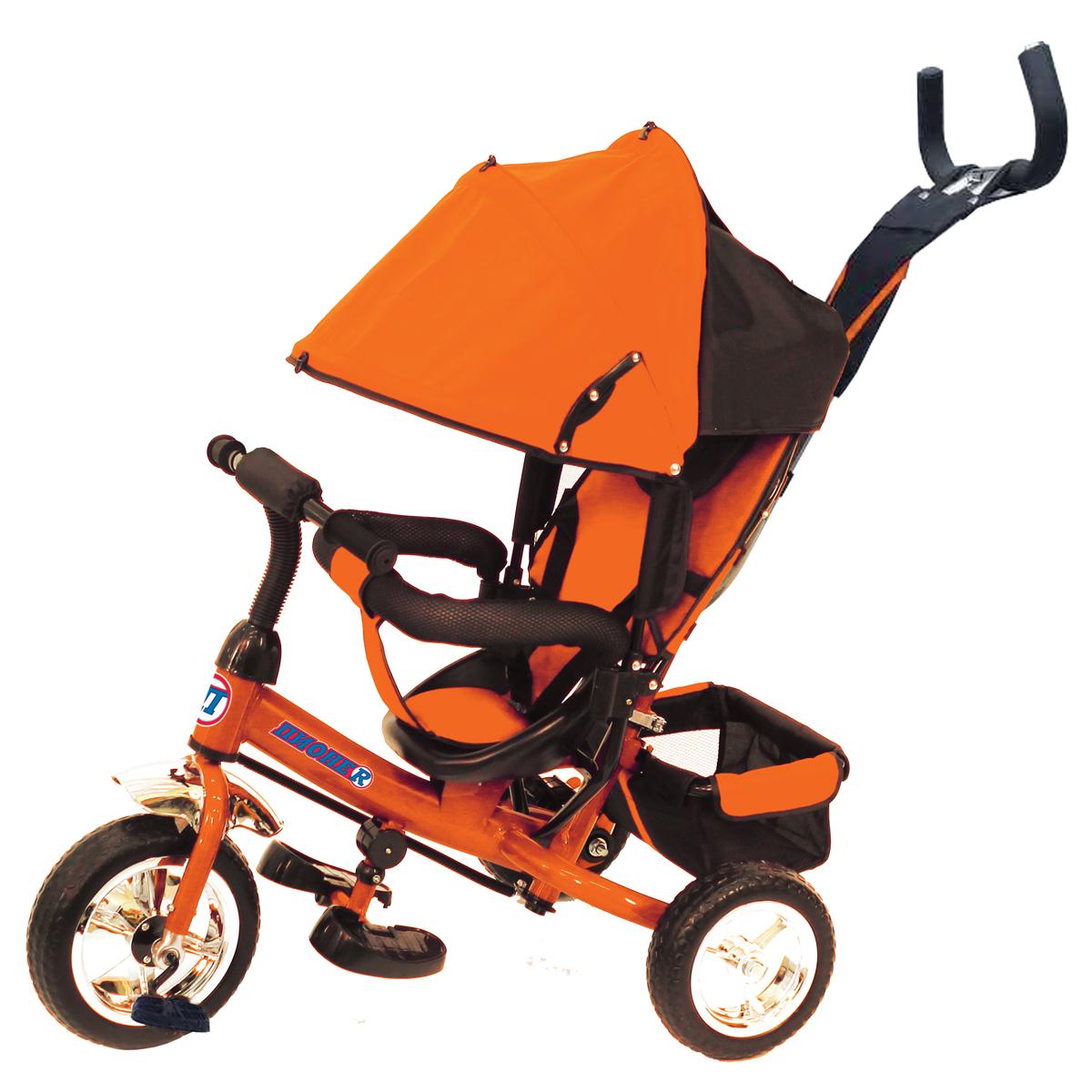 ПИОНЕR Велосипед трехколесный цвет оранжевый P1O - Велосипеды-каталки