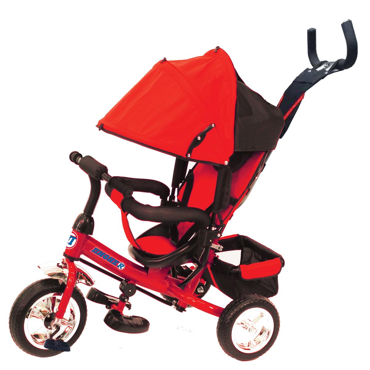 ПИОНЕR Велосипед трехколесный цвет красный P1R - Велосипеды-каталки