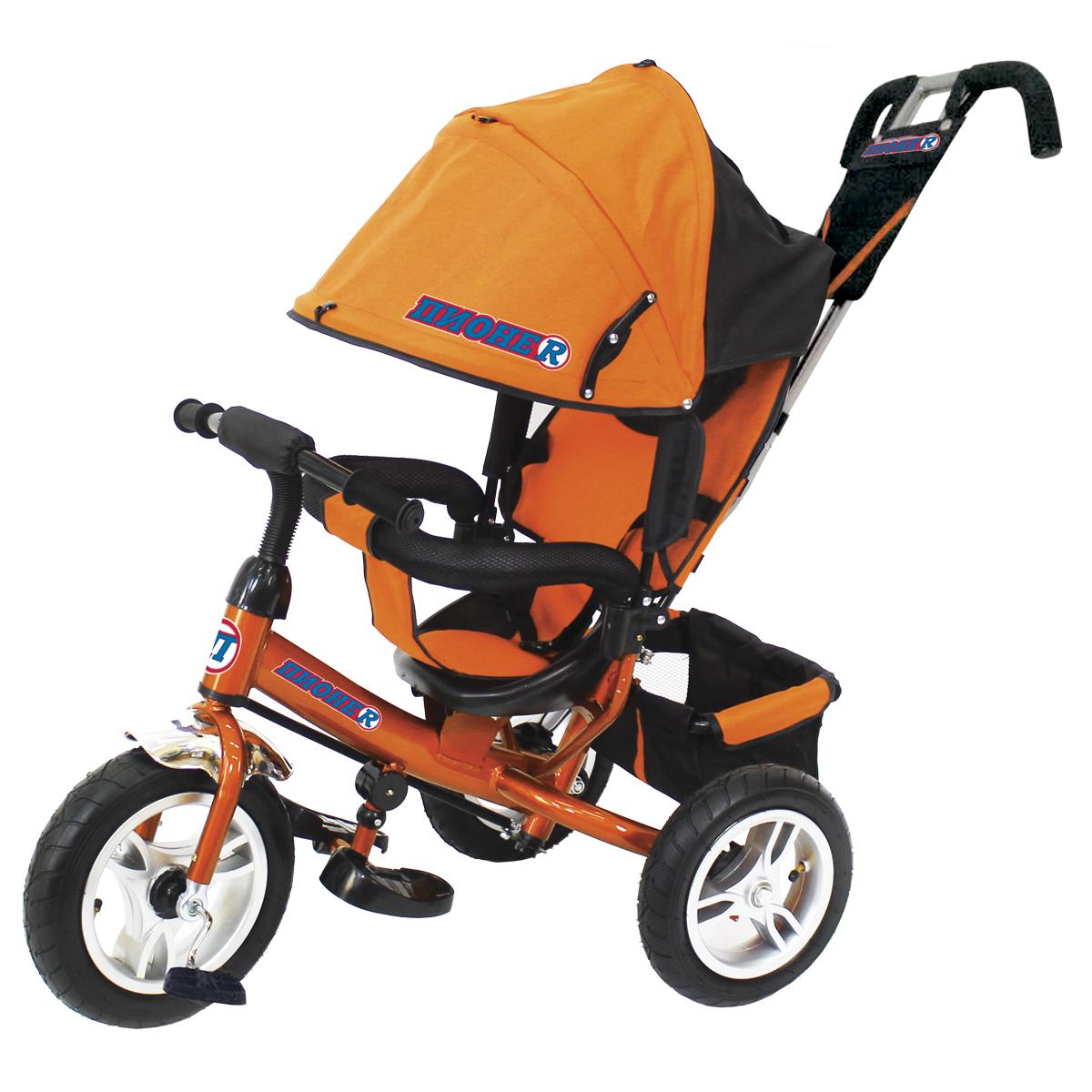 ПИОНЕR Велосипед трехколесный цвет оранжевый P2O - Велосипеды-каталки