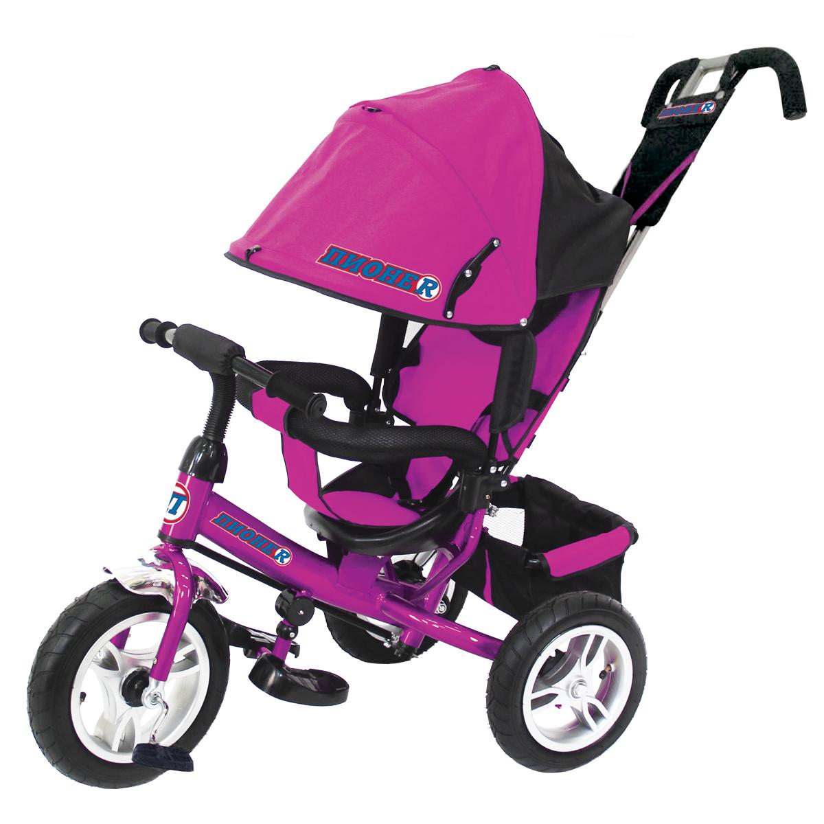 ПИОНЕR Велосипед трехколесный цвет розовый P2P - Велосипеды-каталки