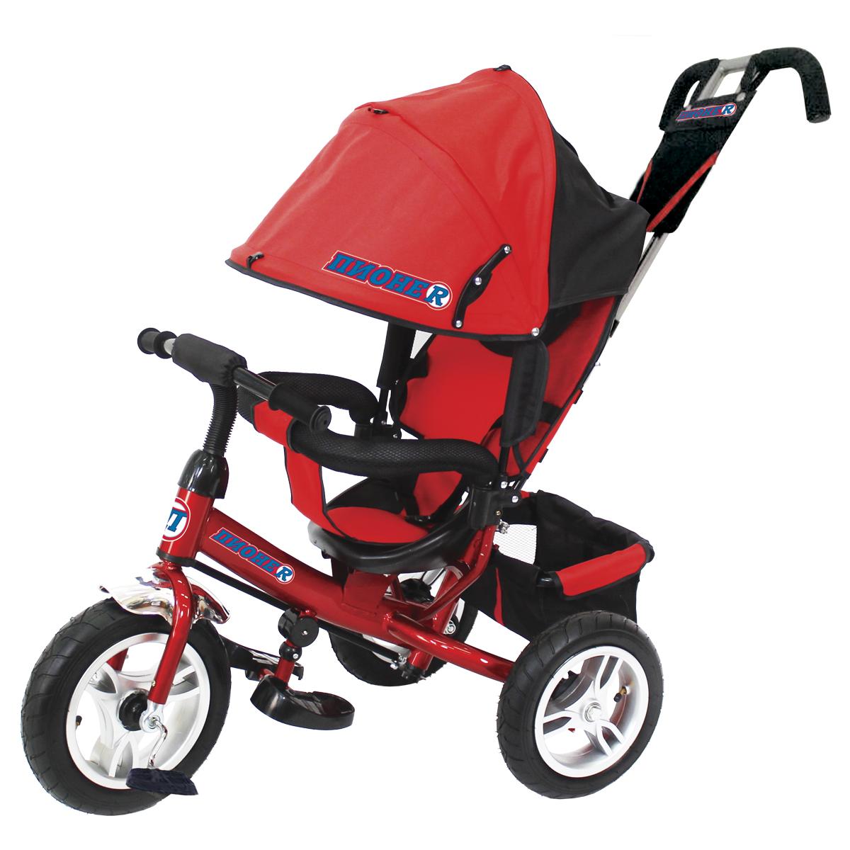 ПИОНЕR Велосипед трехколесный цвет красный P2R - Велосипеды-каталки