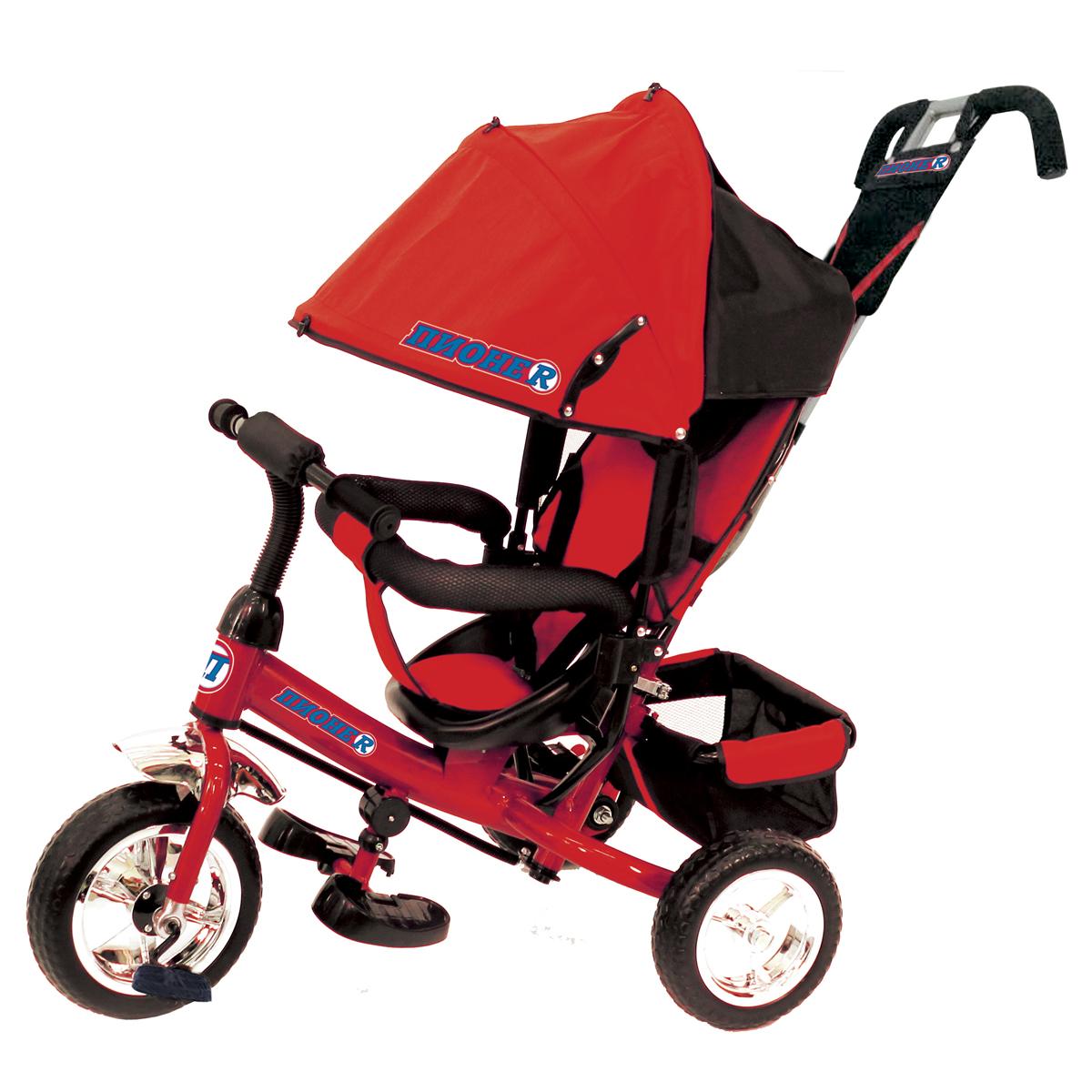 ПИОНЕR Велосипед трехколесный цвет красный P4R - Велосипеды-каталки