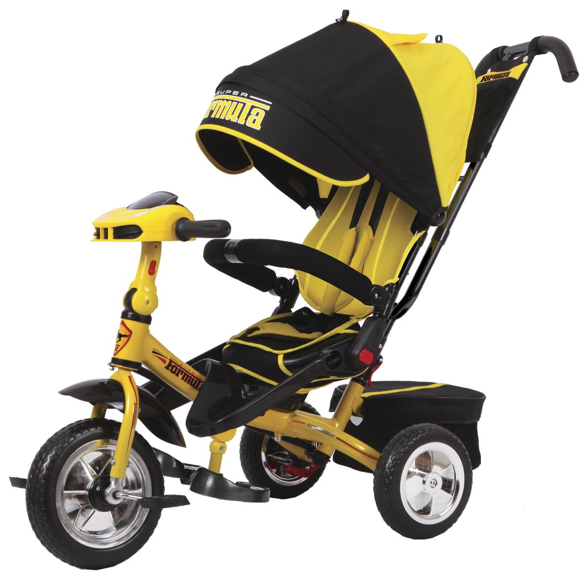 Super Formula Велосипед трехколесный цвет желтый SF3Y - Велосипеды-каталки