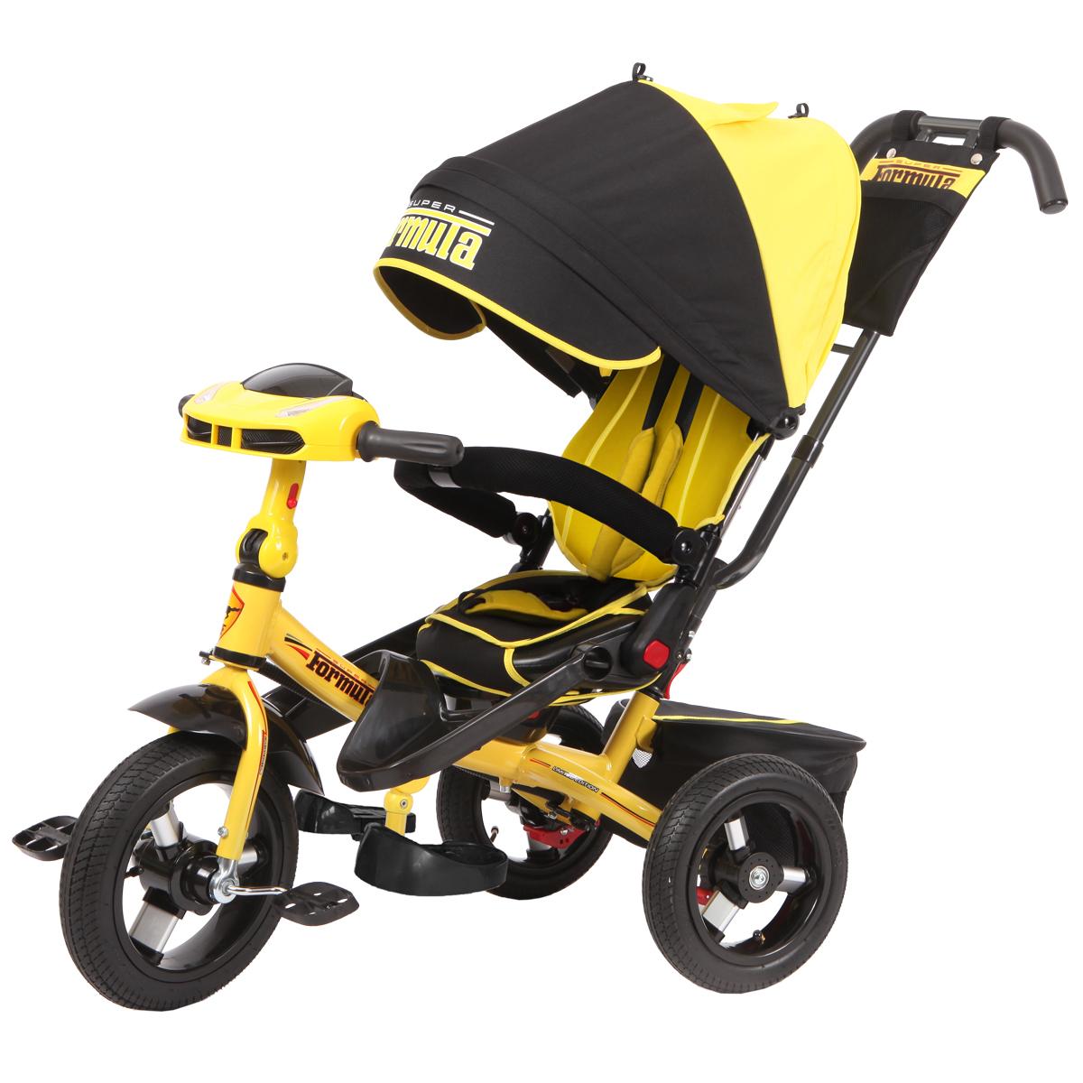 Super Formula Велосипед трехколесный цвет желтый SFA3Y - Велосипеды-каталки