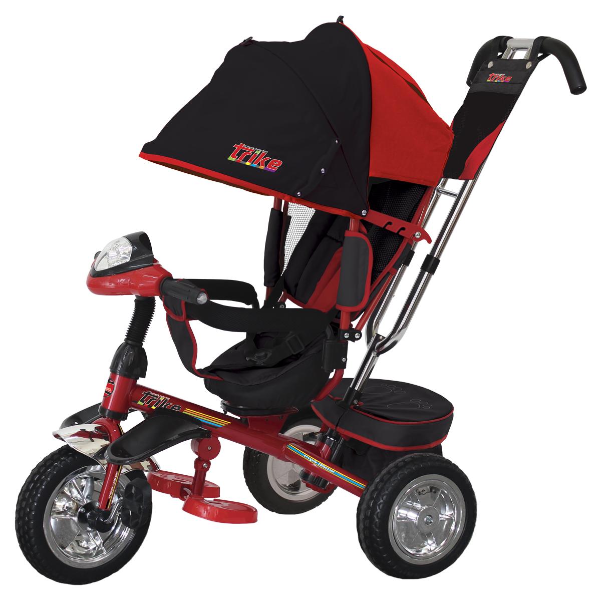TRIKE Велосипед трехколесный цвет красный T4R - Велосипеды-каталки