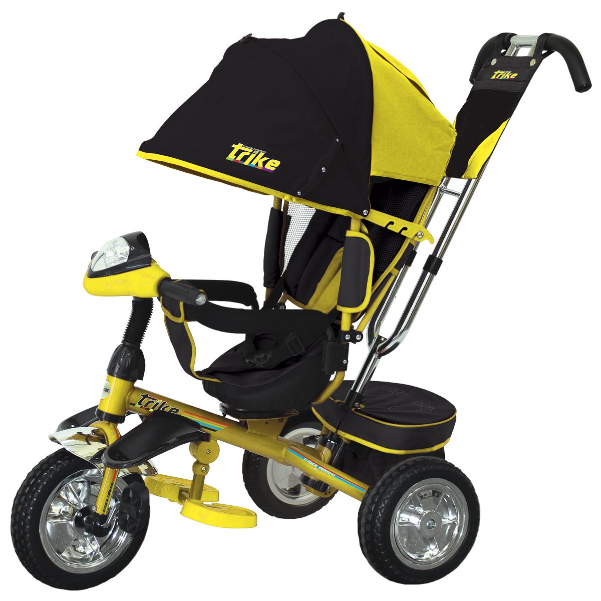 TRIKE Велосипед трехколесный цвет желтый T4Y - Велосипеды-каталки